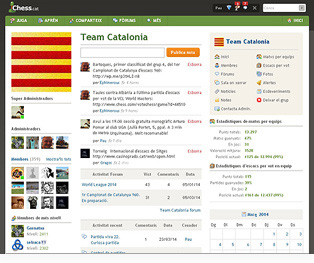 Home page Team Catalonia